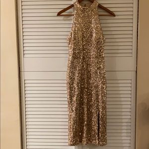 Vince Camuto Rose Gold sequin dress - size 4